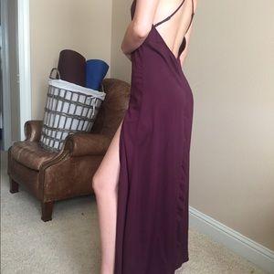 Tobi slip long dress